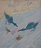 Crows with Debris - Gieve  Patel - Absolute Auction February 2013