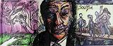 Untitled (Man in Tie) - F N Souza - F.N.Souza | Mumbai, Live
