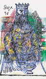 Untitled (The King) - F N Souza - F.N.Souza   Mumbai, Live
