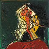 Head (Weeping Woman) - F N Souza - F.N.Souza | Mumbai, Live