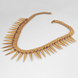 A 'Milligai Arumbumalai' Necklace -    - Folk and Tribal Art Auction