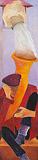 The Unexpected Does Happen II - Krishen  Khanna - Absolute Art Auction