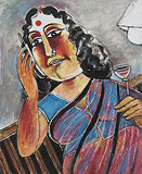 Hallo Kamna - Paritosh  Sen - Absolute Art Auction