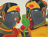 Untitled - Thota  Vaikuntam - Absolute Art Auction