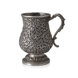 A BALUSTER SILVER MUG, OOMERSI MAWJI & CO., BHUJ -    - Autumn Auction of Fine Jewels and Silver