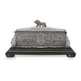 A PERIOD 'KUTCH' SILVER BOX -    - Autumn Auction of Fine Jewels and Silver