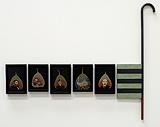 Fallen Leaves - A Stroll #2 - Atul  Dodiya - Spring Art Auction 2013