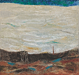 Mahim Seascape - K K Hebbar - Spring Art Auction 2013