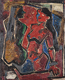 Untitled - M F Husain - Spring Art Auction 2013