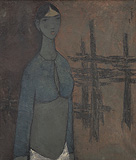 Untitled - B  Prabha - Spring Art Auction 2013