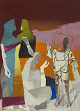 The Other Self - M F Husain - Summer Art Auction