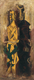 Abhisarika - M F Husain - Summer Art Auction