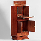 AN ART DECO POP-UP COCKTAIL CABINET -    - Travel and Leisure Auction