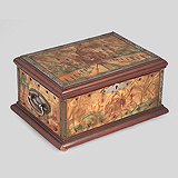 A MUSICAL JEWELRY BOX -    - Travel and Leisure Auction