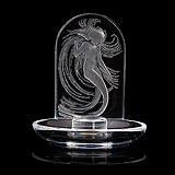 A 'NAIADE' RING TRAY, LALIQUE -    - Travel and Leisure Auction