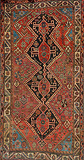 A TRIBAL QUASHGAI CARPET -    - Travel and Leisure Auction
