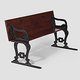 A PERIOD TRANSFORMABLE BENCH -    - Travel and Leisure Auction