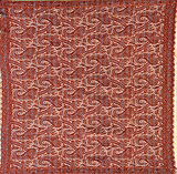 A PAISLEY JAMEWAR 'RUMAL' SHAWL -    - Travel and Leisure Auction