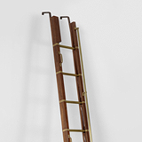 A GENTLEMAN'S LIBRARY LADDER -    - Travel and Leisure Auction