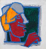 Rajasthani Head - M F Husain - Winter Online Auction