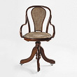 A BENTWOOD DESK CHAIR - 24-Hour Online Auction: Elegant Design