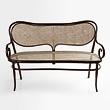 A PERIOD BENTWOOD LOVESEAT - 24-Hour Online Auction: Elegant Design