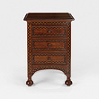 A CHEST OF DRAWERS WITH EXOTIC WOOD INLAY - 24-Hour Online Auction: Elegant Design