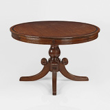 A ROTATING LIBRARY DRUM TABLE -    - 24-Hour Online Auction: Elegant Design