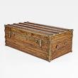 A PERIOD CAMPHOR WOOD CABIN TRUNK - 24-Hour Online Auction: Elegant Design
