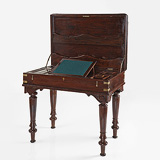 A CAMPAIGN WRITING TABLE -    - 24-Hour Online Auction: Elegant Design