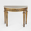 A PERIOD FRENCH-STYLE DEMI-LUNE CONSOLE - 24-Hour Online Auction: Elegant Design