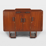 AN ART DECO SIDEBOARD -    - 24-Hour Online Auction: Elegant Design