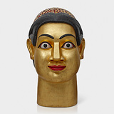 Large Head - G Ravinder Reddy - ALIVE Contemporary Day Sale | Mumbai, Live