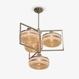 AN ART DECO CEILING LIGHT -    - LIVE Auction Celebrating 20th Century Design