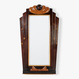 A MID-CENTURY WALL MIRROR -    - LIVE Auction Celebrating 20th Century Design