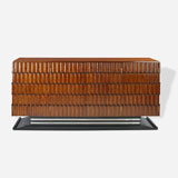 A STUNNING TEAKWOOD AND EBONY SIDEBOARD -    - LIVE Auction Celebrating 20th Century Design