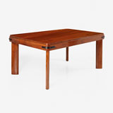 AN UNUSUAL ART DECO-STYLE DINING TABLE -    - LIVE Auction Celebrating 20th Century Design