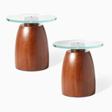 A PAIR OF CIRCULAR OCCASIONAL TABLES -    - LIVE Auction Celebrating 20th Century Design