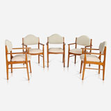 A SET OF TEN MID-CENTURY DINING CHAIRS -    - LIVE Auction Celebrating 20th Century Design