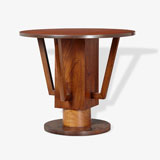 A CIRCULAR ART DECO COFFEE TABLE -    - LIVE Auction Celebrating 20th Century Design