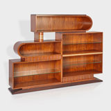 AN ART DECO BOOKCASE -    - LIVE Auction Celebrating 20th Century Design