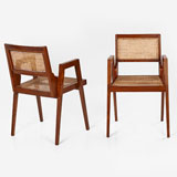 A PAIR OF MID-CENTURY OCCASIONAL CHAIRS -    - LIVE Auction Celebrating 20th Century Design