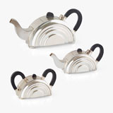 AN ART DECO TEA SET -    - LIVE Auction Celebrating 20th Century Design