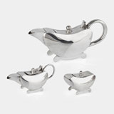 A BACHELOR'S TEA SET -    - LIVE Auction Celebrating 20th Century Design