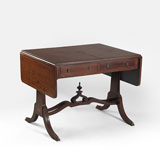 A PERIOD SOFA TABLE -    - LIVE Auction Celebrating 20th Century Design