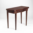 A PERIOD CARD TABLE - LIVE Auction Celebrating 20th Century Design
