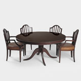 A PERIOD DINING SUITE -    - LIVE Auction Celebrating 20th Century Design
