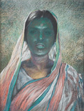 Untitled - Bikash  Bhattacharjee - Modern Masters on Paper: LIVE Auction