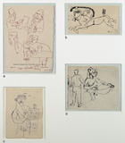 Untitled - M F Husain - Modern Masters on Paper: LIVE Auction