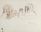 Untitled - Krishen  Khanna - Modern Masters on Paper: LIVE Auction